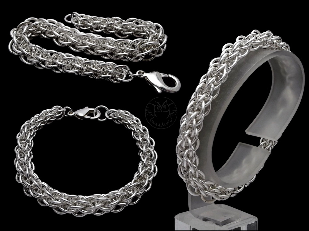 męska bransoleta łańcuch