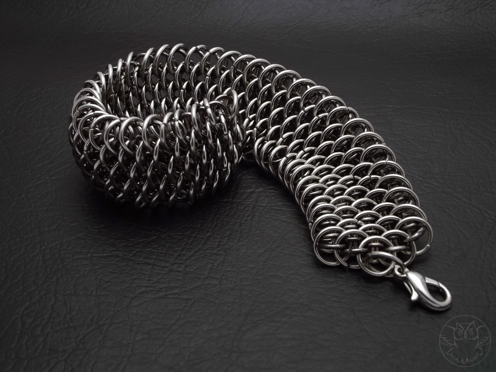 bransoletka Dragonscale chainmaille