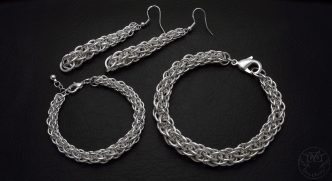 graduated JPL5 chainmaille