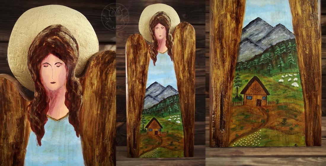 anioł z gór