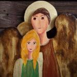 anioł podwójny ona i on