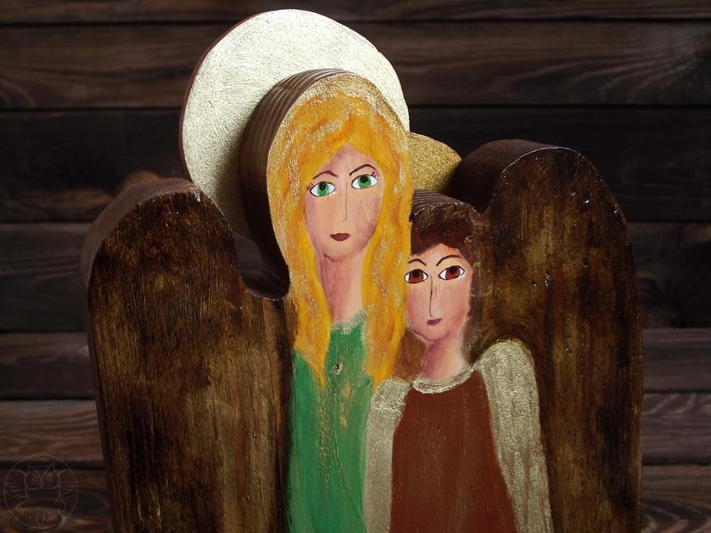 podwójny anioł ona i on