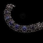 bransoletka z kryształkami rivoli
