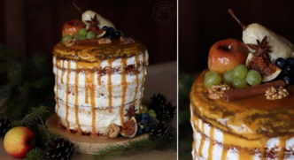 jesienny tort