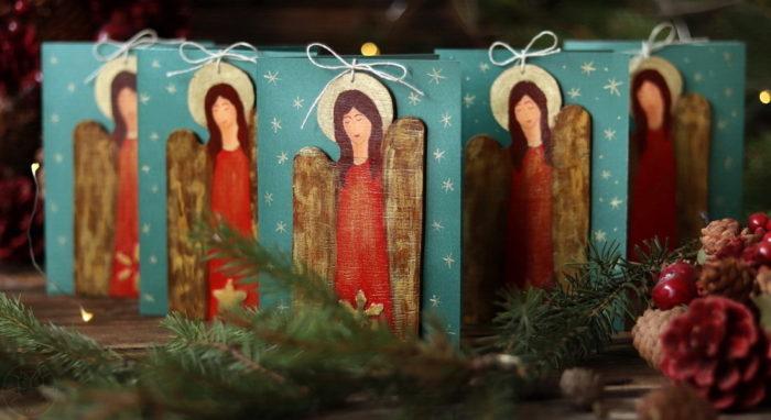 kartki z aniołami
