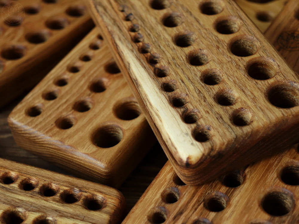 wooden draw plate