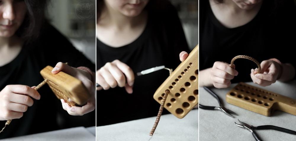 viking knit miedź z mosiądzem