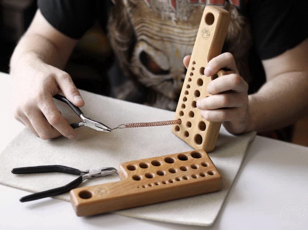 miedziany viking knit