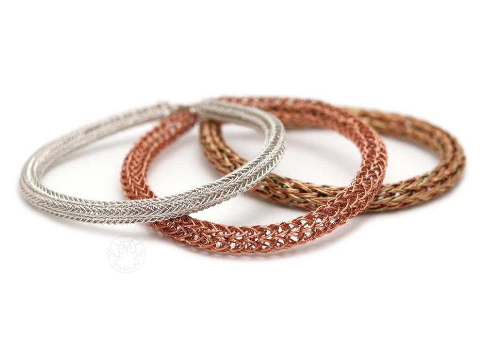 bransoletki viking knit