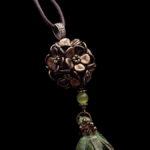 kwiatowa kula z koralików