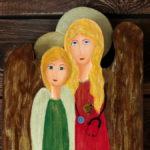 anioł dla lekarki ręcznie malowany
