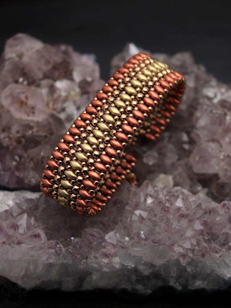bransoletka w kolorach jesieni