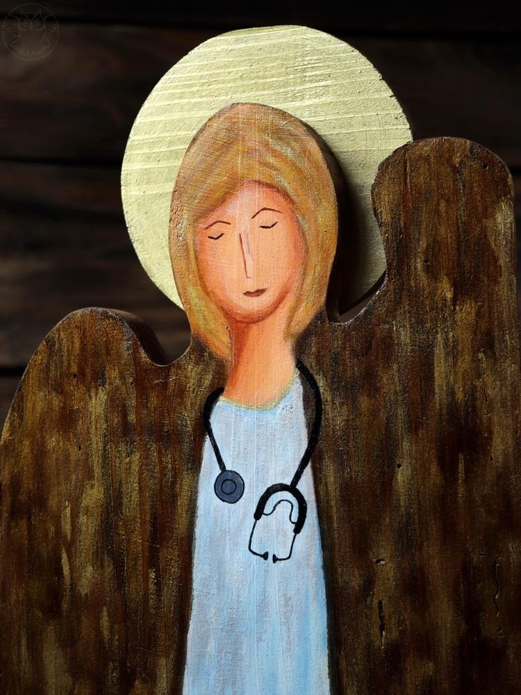 anioł dla lekarki