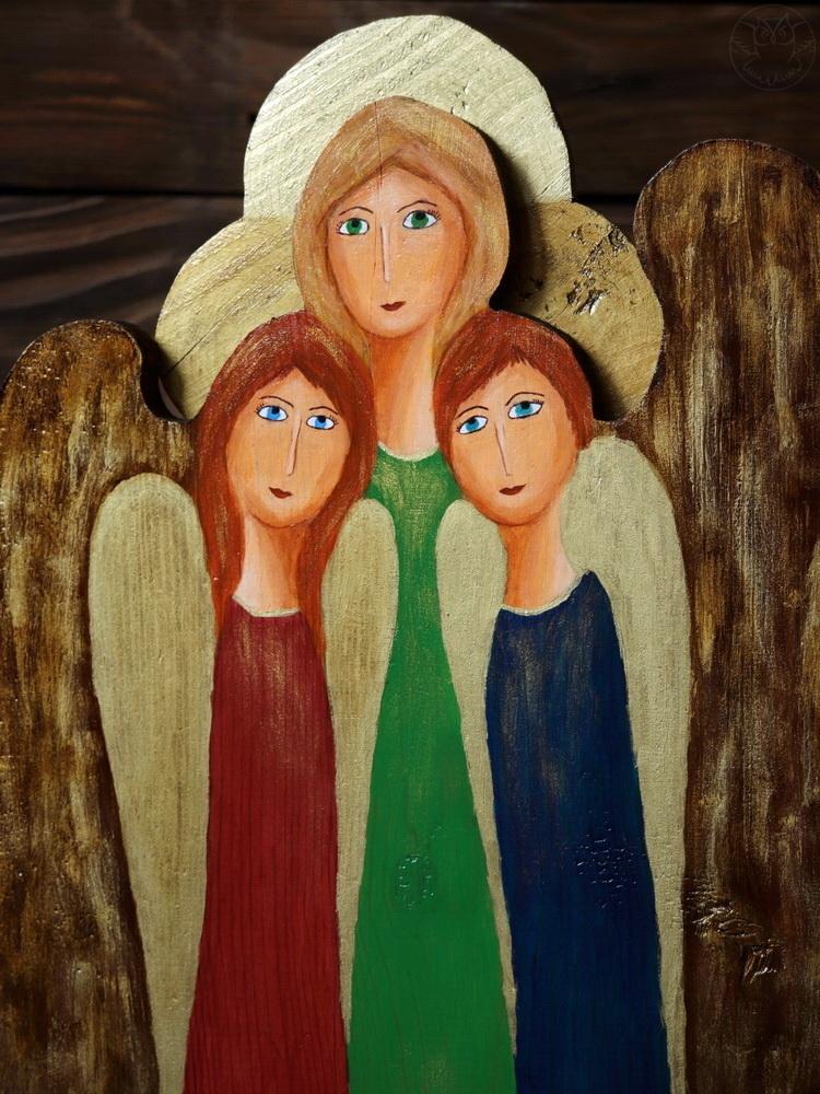 potrójny anioł przyjaźni