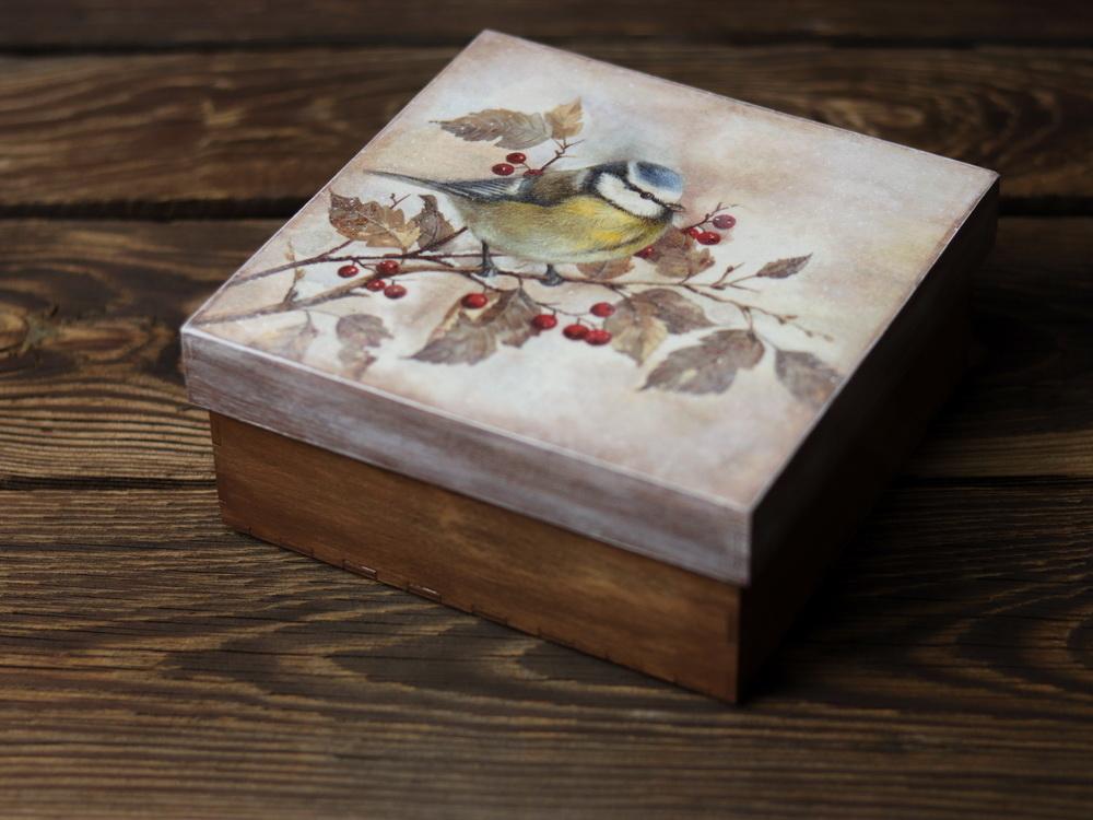 pudełko od Justyny