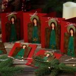 anielskie kartki bożonarodzeniowe