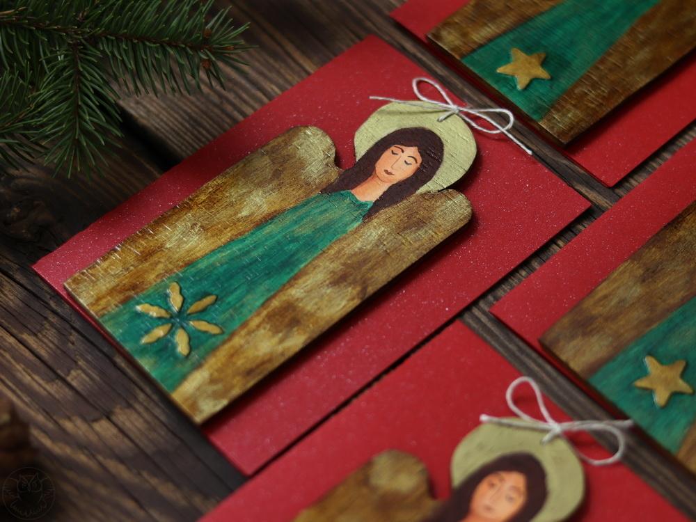 kartki z aniołkami
