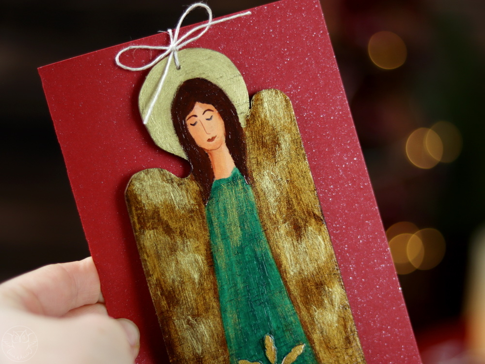 kartka z aniołem