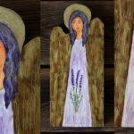 Lawendowy aniołek