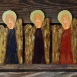 Małe aniołki na… drzwi