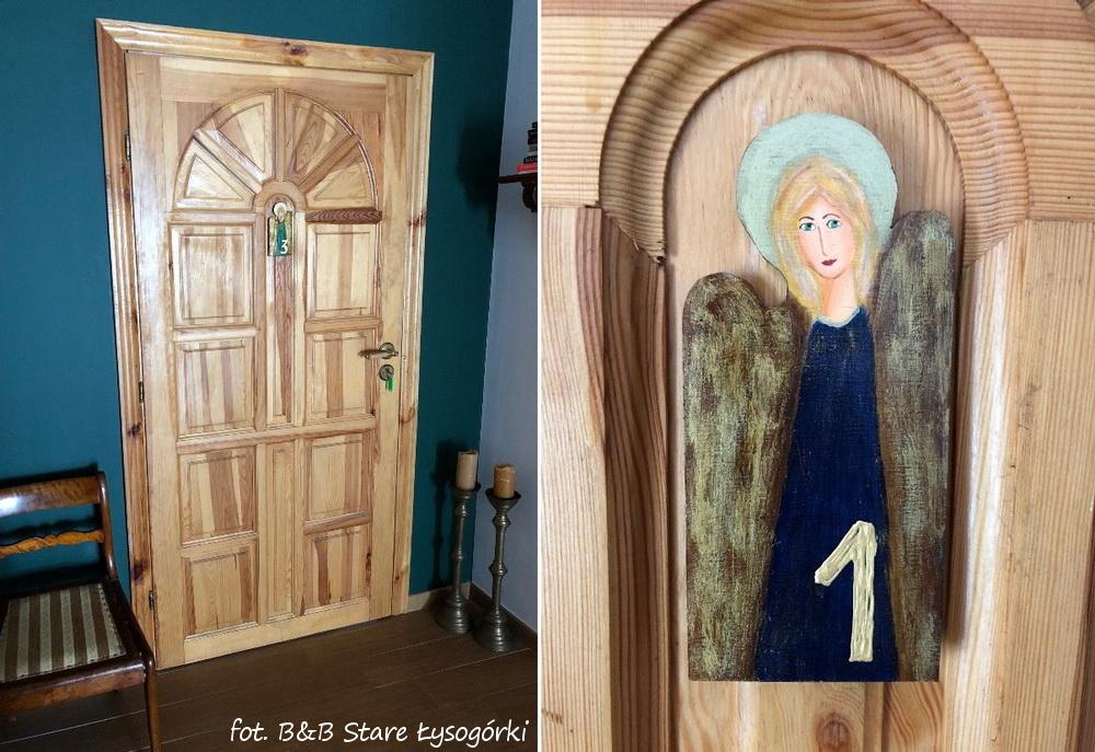 aniołki na drzwi