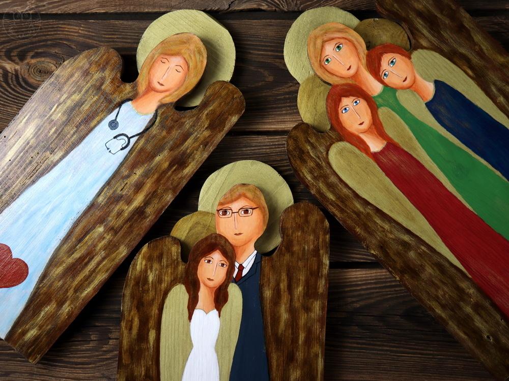 drewniane anioły na każdą okazję