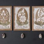 ręcznie robione kartki na Wielkanoc