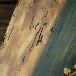 drewniany anioł - detale