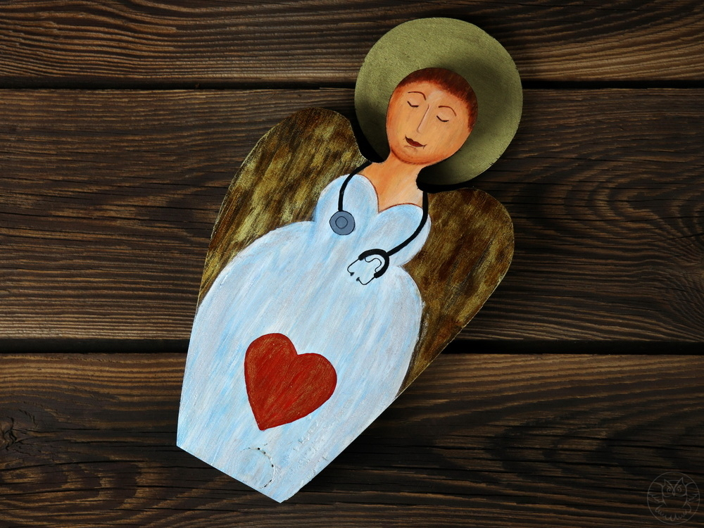 aniołek dla pani doktor