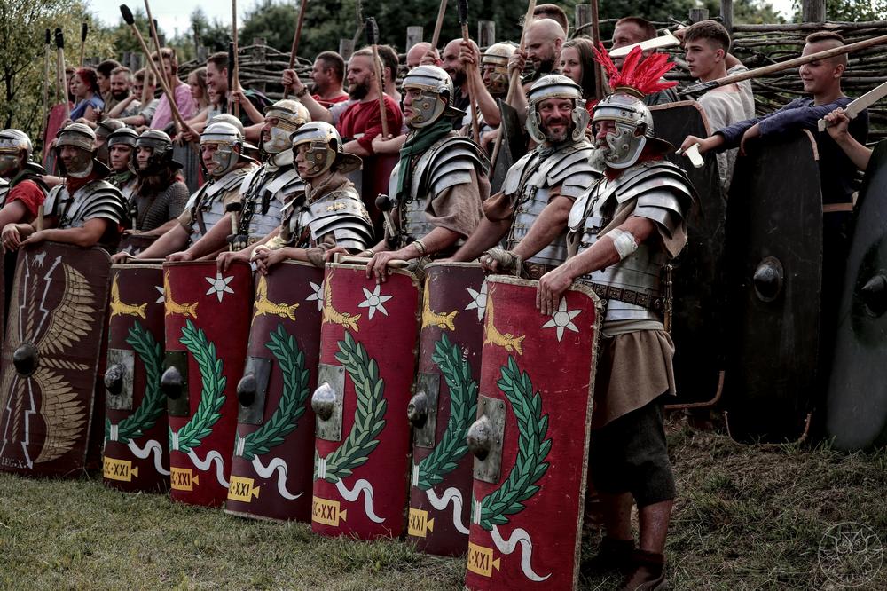 Barbarzyńcy vs Rzymianie - Dymarki w Nowej Słupi