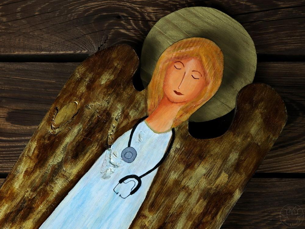 anioł dla lekarek i pielęgniarek