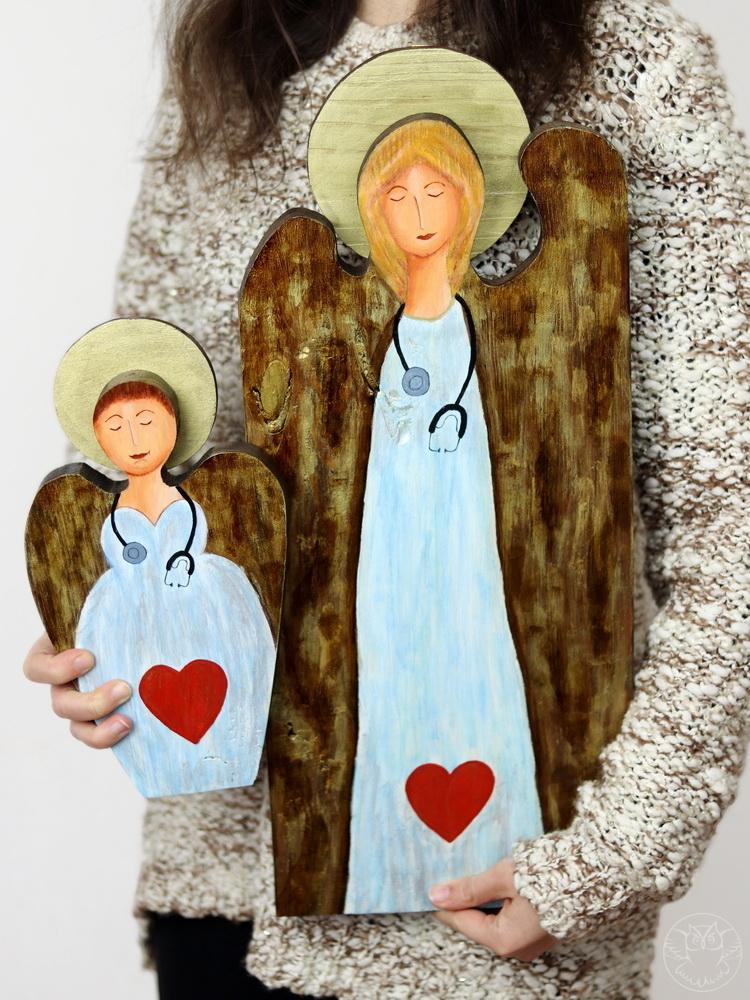 anioły dla personelu medycznego