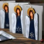 anielskie kartki na Boże Narodzenie