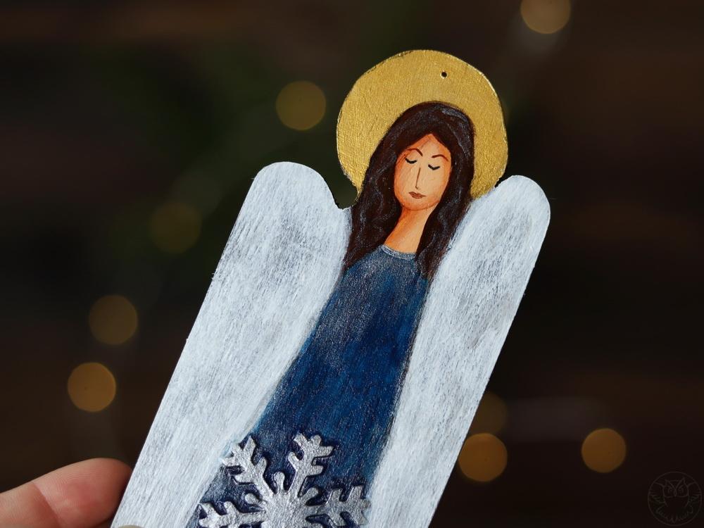aniołek ręcznie malowany