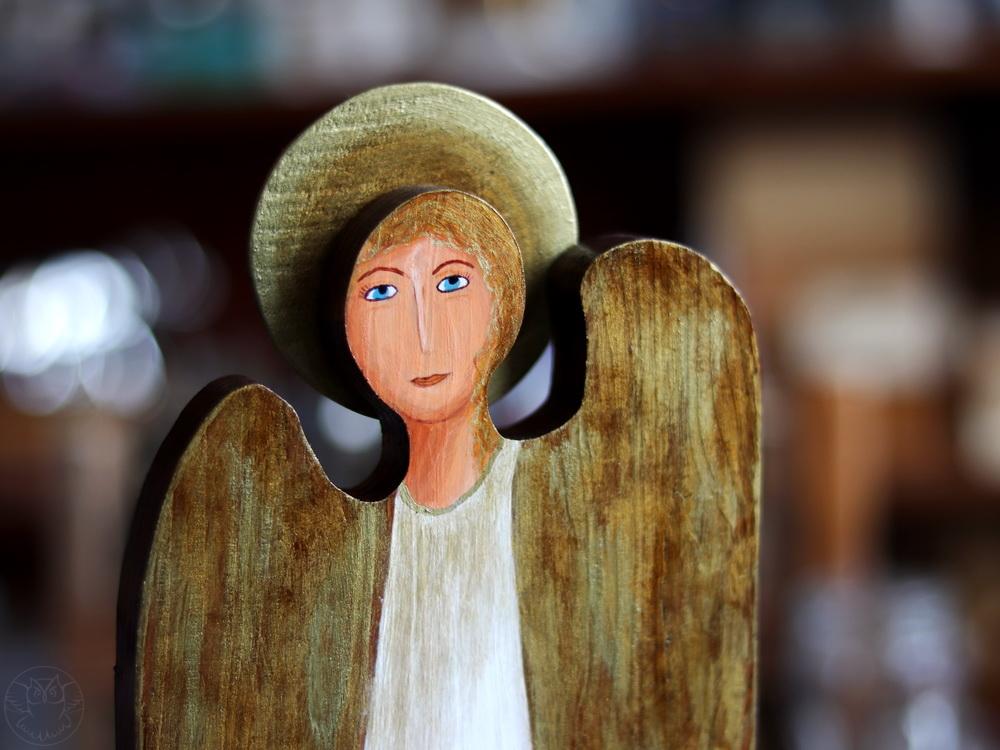 anioł prezent z okazji chrztu